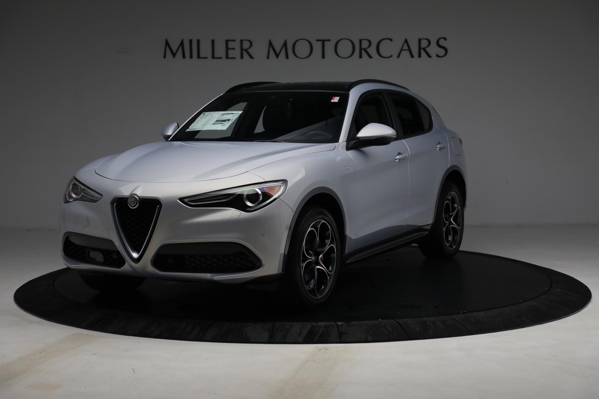 New 2022 Alfa Romeo Stelvio Ti for sale $55,805 at Maserati of Greenwich in Greenwich CT 06830 1