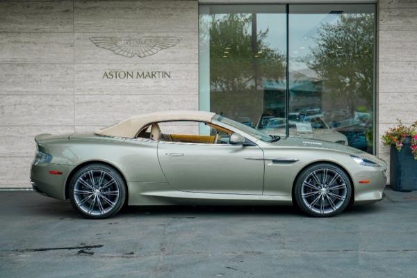 Used 2015 Aston Martin DB9 Volante for sale $119,990 at Maserati of Greenwich in Greenwich CT 06830 3