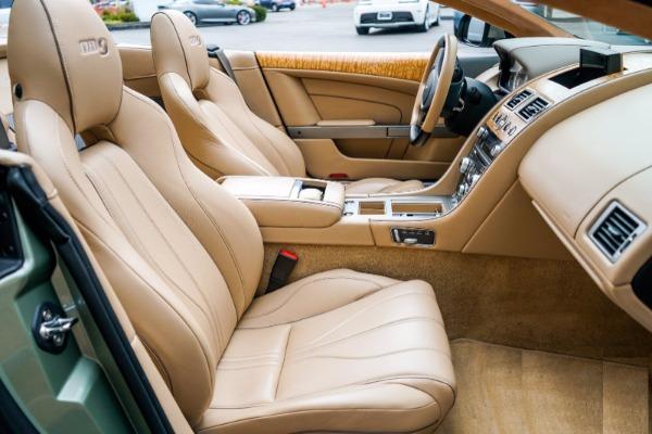 Used 2015 Aston Martin DB9 Volante for sale $119,990 at Maserati of Greenwich in Greenwich CT 06830 6