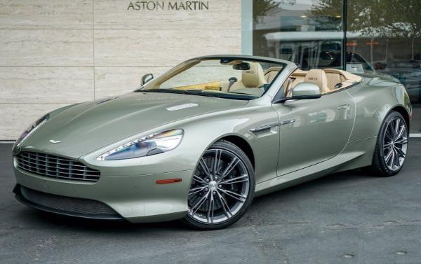 Used 2015 Aston Martin DB9 Volante for sale $119,990 at Maserati of Greenwich in Greenwich CT 06830 1