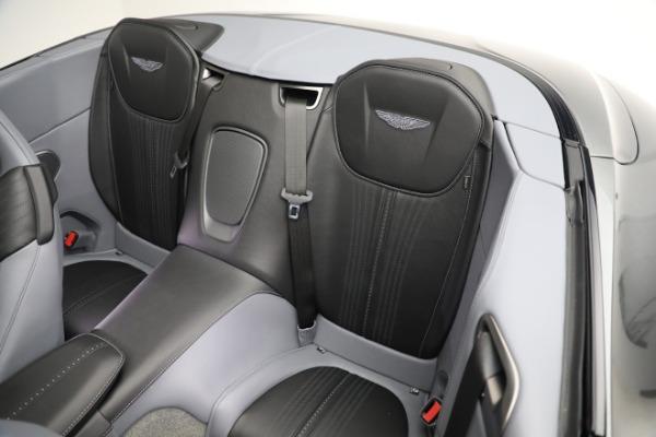 New 2021 Aston Martin DB11 Volante for sale $260,286 at Maserati of Greenwich in Greenwich CT 06830 19