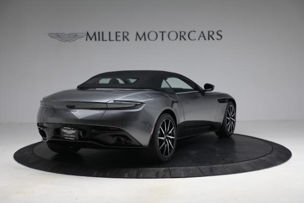 New 2021 Aston Martin DB11 Volante for sale $260,286 at Maserati of Greenwich in Greenwich CT 06830 26