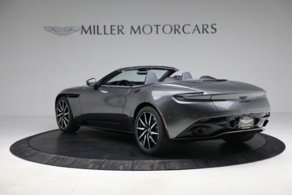 New 2021 Aston Martin DB11 Volante for sale $260,286 at Maserati of Greenwich in Greenwich CT 06830 6