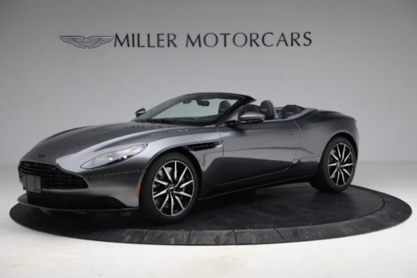 New 2021 Aston Martin DB11 Volante for sale $260,286 at Maserati of Greenwich in Greenwich CT 06830 1