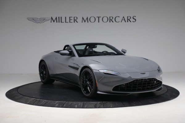 New 2021 Aston Martin Vantage Roadster for sale $180,286 at Maserati of Greenwich in Greenwich CT 06830 10