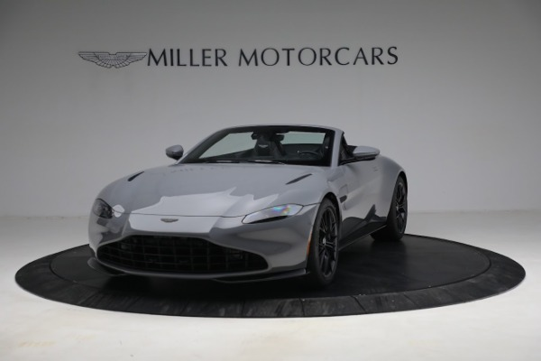 New 2021 Aston Martin Vantage Roadster for sale $180,286 at Maserati of Greenwich in Greenwich CT 06830 12