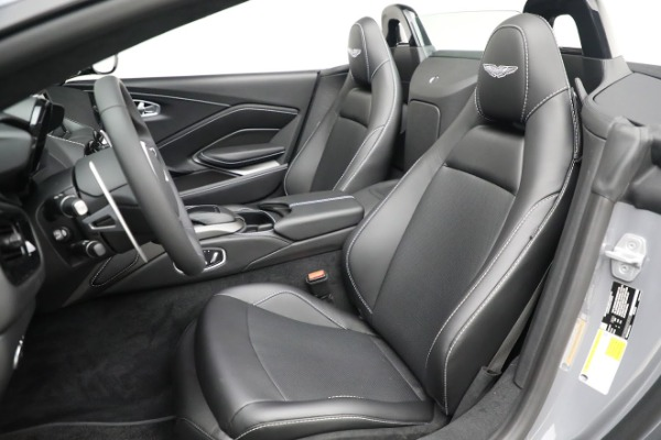New 2021 Aston Martin Vantage Roadster for sale $180,286 at Maserati of Greenwich in Greenwich CT 06830 15