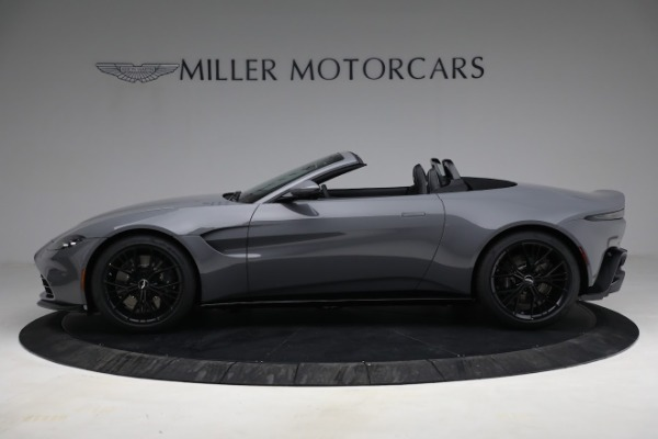 New 2021 Aston Martin Vantage Roadster for sale $180,286 at Maserati of Greenwich in Greenwich CT 06830 2