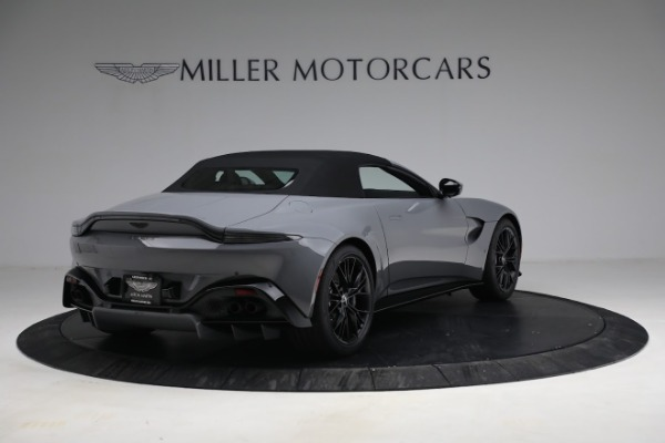 New 2021 Aston Martin Vantage Roadster for sale $180,286 at Maserati of Greenwich in Greenwich CT 06830 25