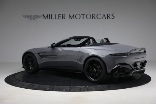 New 2021 Aston Martin Vantage Roadster for sale $180,286 at Maserati of Greenwich in Greenwich CT 06830 3
