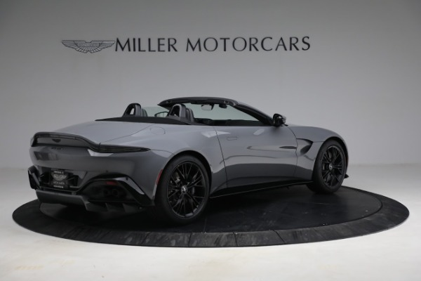 New 2021 Aston Martin Vantage Roadster for sale $180,286 at Maserati of Greenwich in Greenwich CT 06830 7