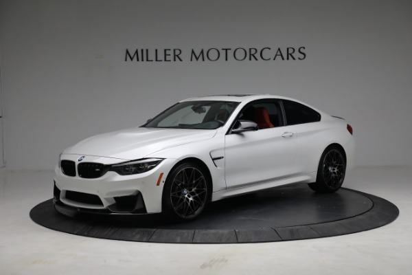 Used 2019 BMW M4 Competition for sale Call for price at Maserati of Greenwich in Greenwich CT 06830 1