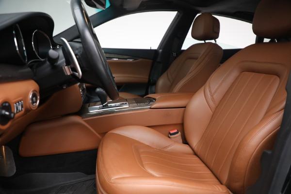 Used 2016 Maserati Quattroporte S Q4 for sale $46,900 at Maserati of Greenwich in Greenwich CT 06830 14