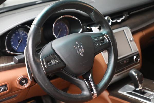 Used 2016 Maserati Quattroporte S Q4 for sale $46,900 at Maserati of Greenwich in Greenwich CT 06830 17