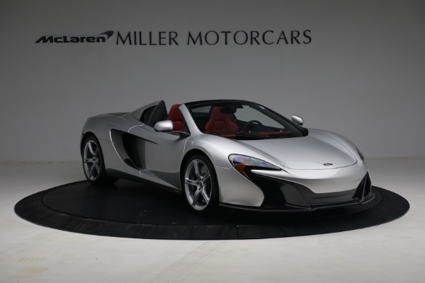 Used 2015 McLaren 650S Spider for sale $179,990 at Maserati of Greenwich in Greenwich CT 06830 10