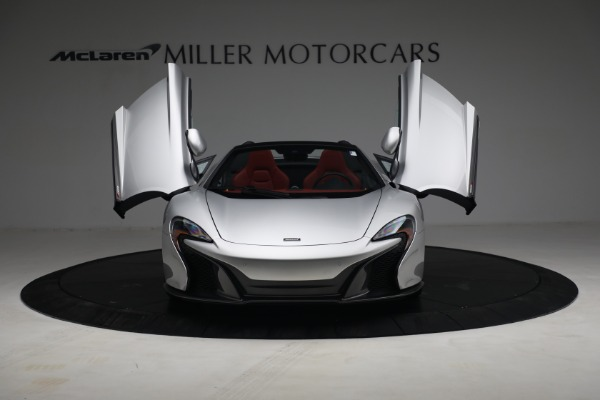 Used 2015 McLaren 650S Spider for sale $179,990 at Maserati of Greenwich in Greenwich CT 06830 12