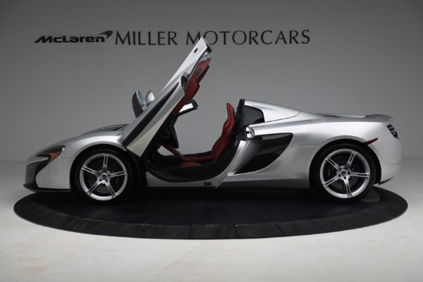 Used 2015 McLaren 650S Spider for sale $179,990 at Maserati of Greenwich in Greenwich CT 06830 14