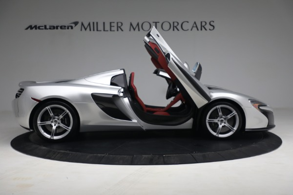 Used 2015 McLaren 650S Spider for sale $179,990 at Maserati of Greenwich in Greenwich CT 06830 18
