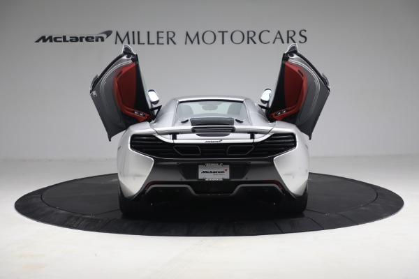 Used 2015 McLaren 650S Spider for sale $179,990 at Maserati of Greenwich in Greenwich CT 06830 24