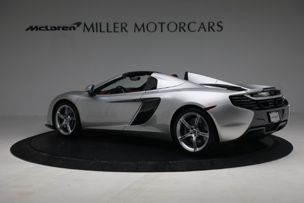 Used 2015 McLaren 650S Spider for sale $179,990 at Maserati of Greenwich in Greenwich CT 06830 3