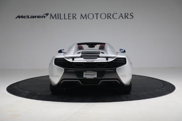 Used 2015 McLaren 650S Spider for sale $179,990 at Maserati of Greenwich in Greenwich CT 06830 5