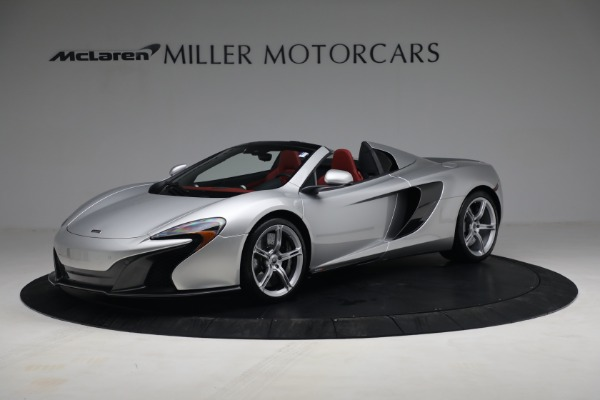 Used 2015 McLaren 650S Spider for sale $179,990 at Maserati of Greenwich in Greenwich CT 06830 1