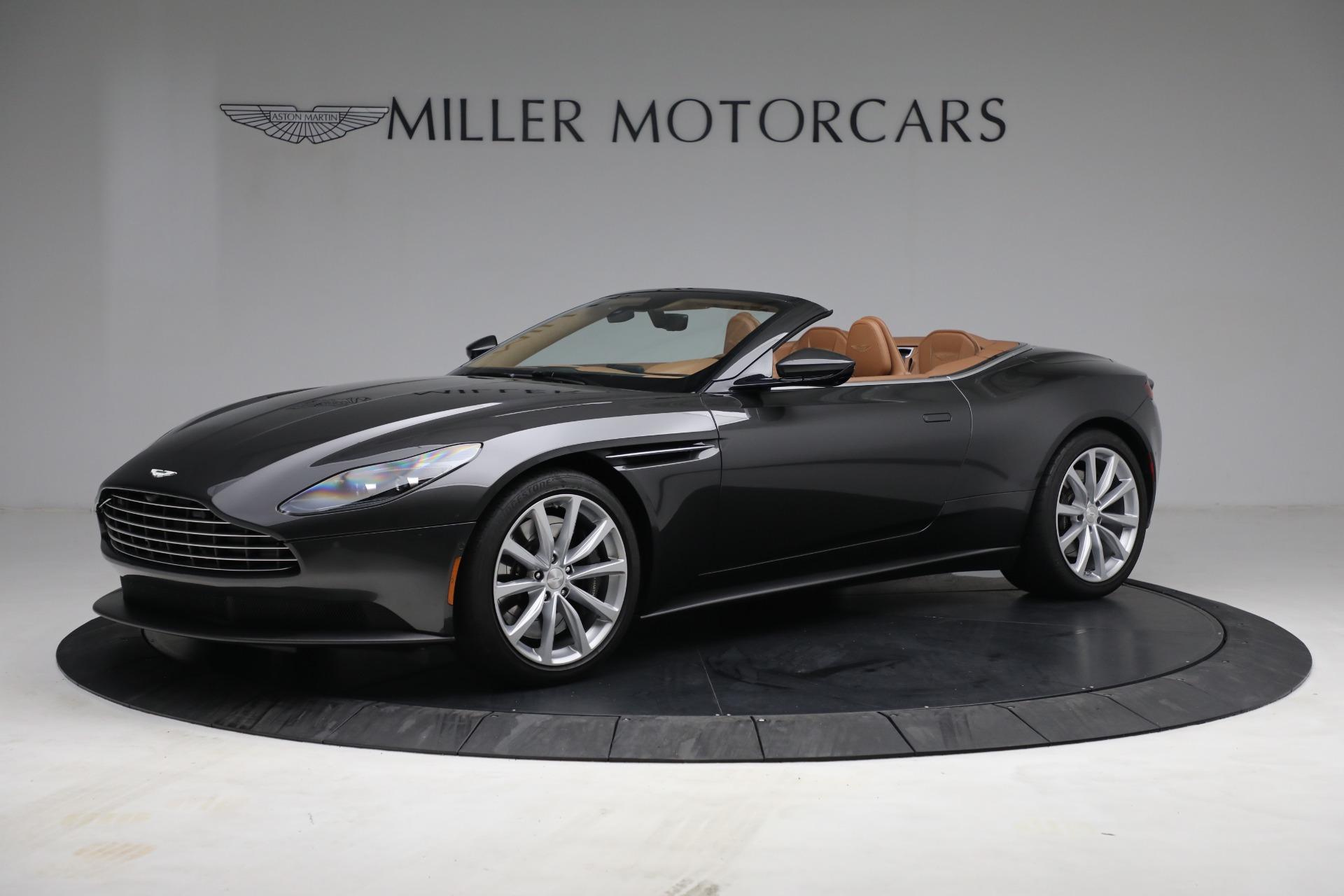 Used 2019 Aston Martin DB11 Volante for sale $212,990 at Maserati of Greenwich in Greenwich CT 06830 1