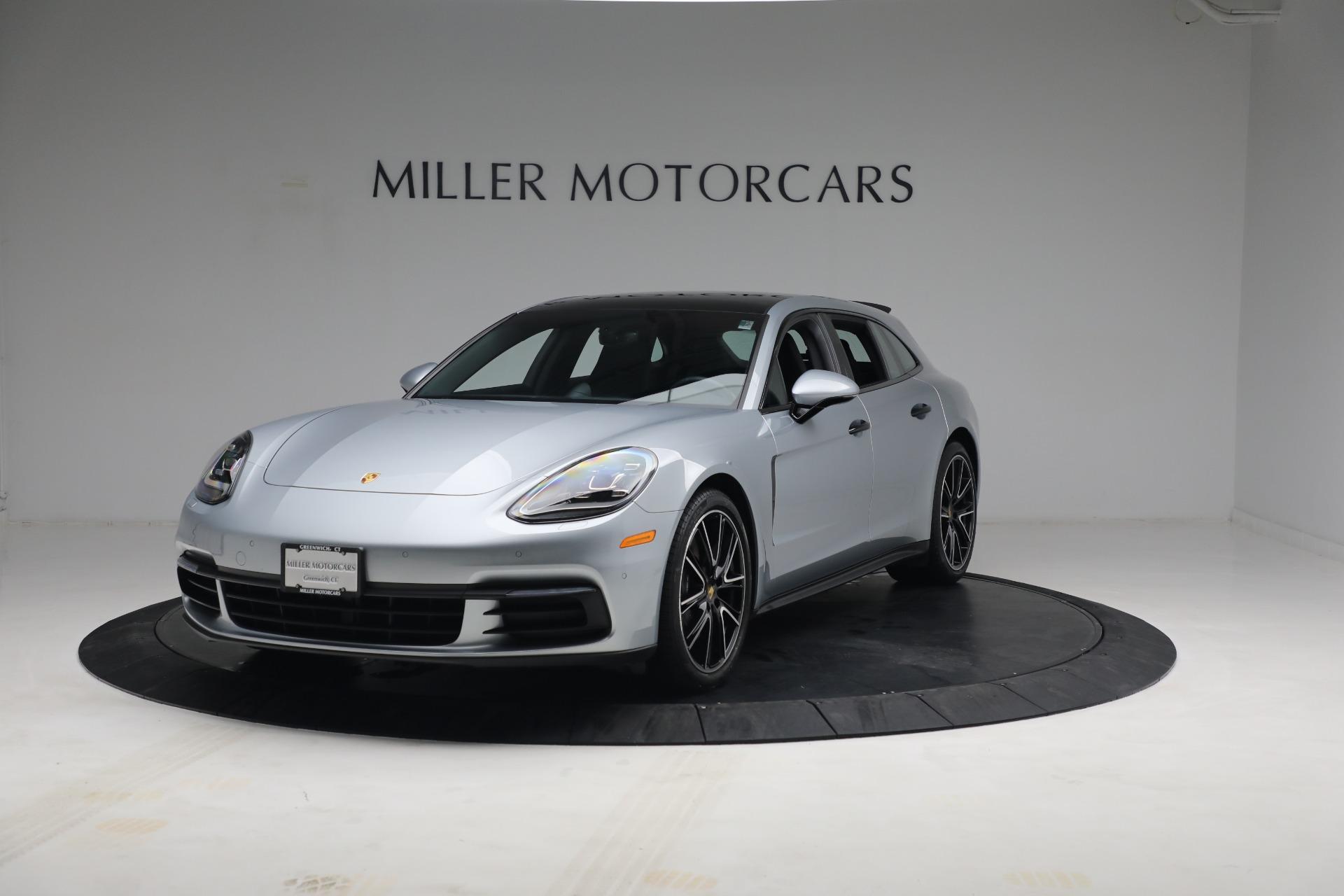 Used 2018 Porsche Panamera 4 Sport Turismo for sale $97,900 at Maserati of Greenwich in Greenwich CT 06830 1