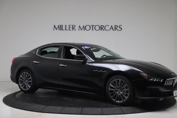 Used 2018 Maserati Ghibli SQ4 for sale $54,900 at Maserati of Greenwich in Greenwich CT 06830 10