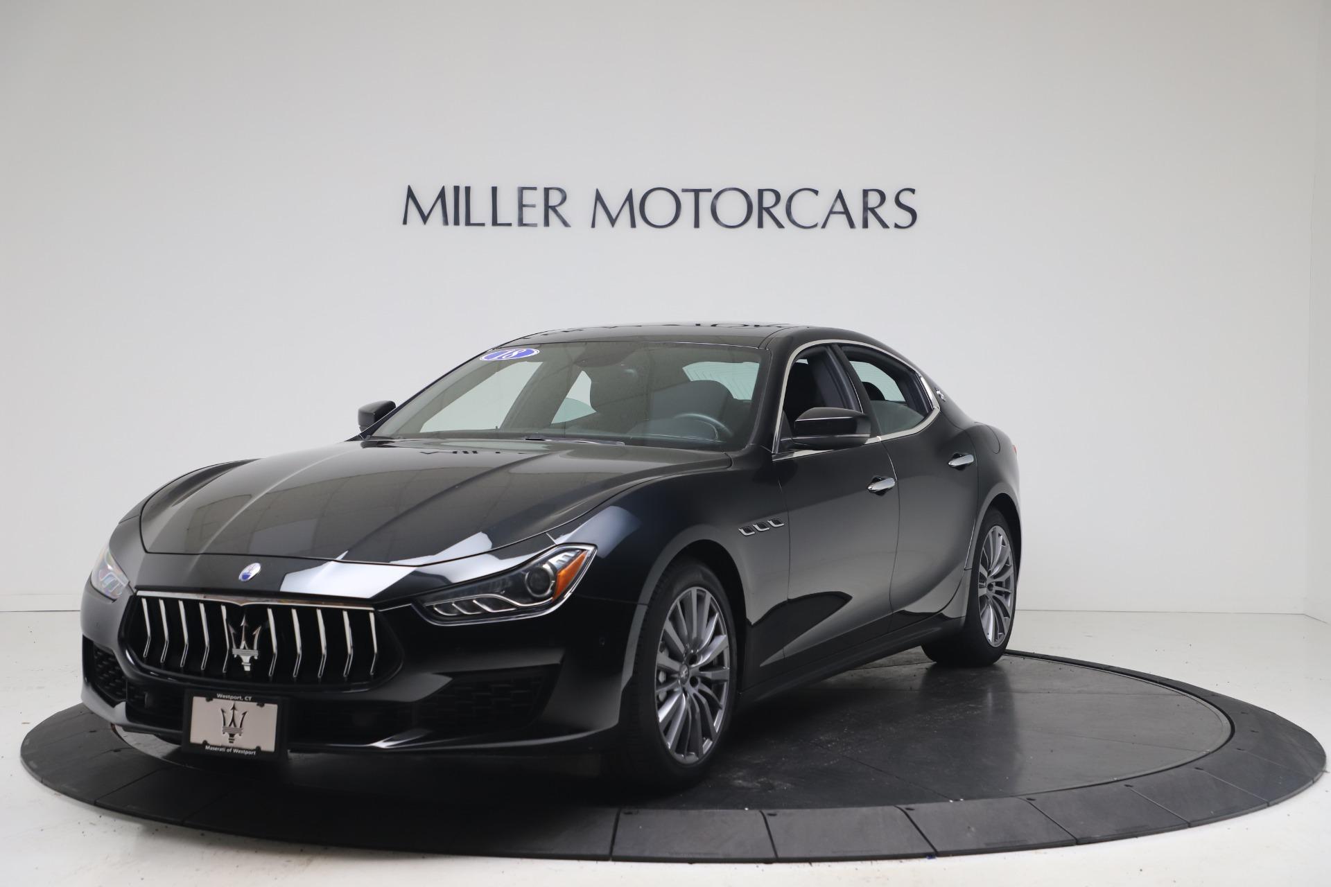 Used 2018 Maserati Ghibli SQ4 for sale $54,900 at Maserati of Greenwich in Greenwich CT 06830 1