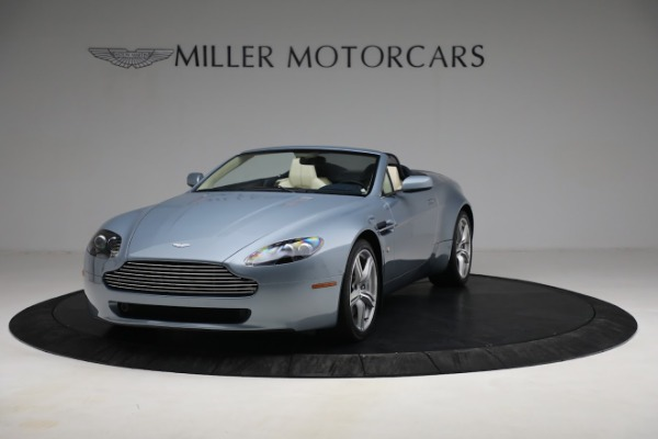 Used 2009 Aston Martin V8 Vantage Roadster for sale Call for price at Maserati of Greenwich in Greenwich CT 06830 12