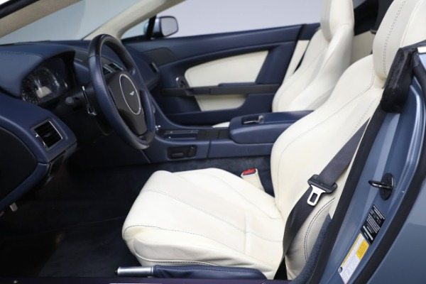 Used 2009 Aston Martin V8 Vantage Roadster for sale Call for price at Maserati of Greenwich in Greenwich CT 06830 14