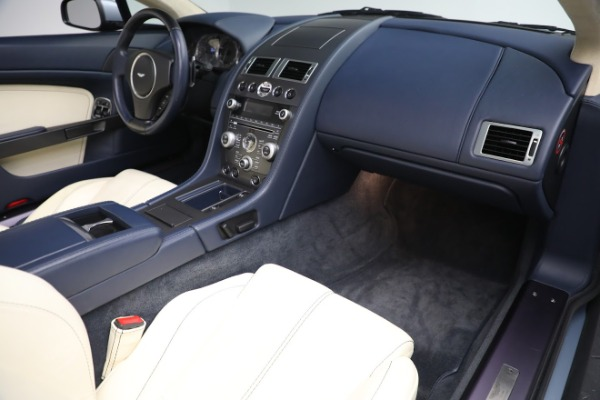 Used 2009 Aston Martin V8 Vantage Roadster for sale Call for price at Maserati of Greenwich in Greenwich CT 06830 18