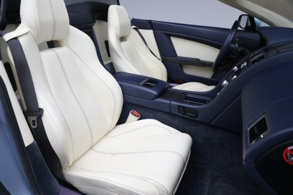 Used 2009 Aston Martin V8 Vantage Roadster for sale Call for price at Maserati of Greenwich in Greenwich CT 06830 20