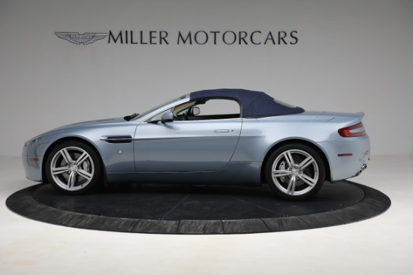 Used 2009 Aston Martin V8 Vantage Roadster for sale Call for price at Maserati of Greenwich in Greenwich CT 06830 22