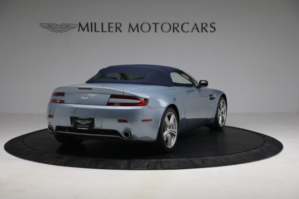 Used 2009 Aston Martin V8 Vantage Roadster for sale Call for price at Maserati of Greenwich in Greenwich CT 06830 24