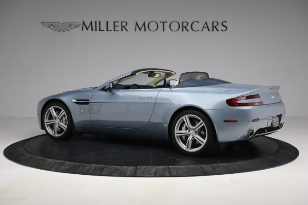 Used 2009 Aston Martin V8 Vantage Roadster for sale Call for price at Maserati of Greenwich in Greenwich CT 06830 3