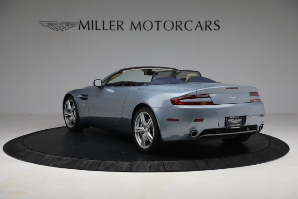Used 2009 Aston Martin V8 Vantage Roadster for sale Call for price at Maserati of Greenwich in Greenwich CT 06830 4