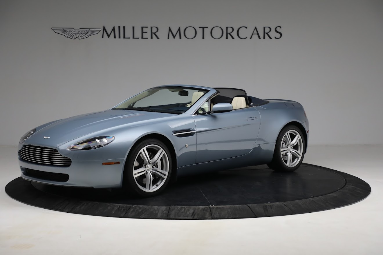 Used 2009 Aston Martin V8 Vantage Roadster for sale Call for price at Maserati of Greenwich in Greenwich CT 06830 1