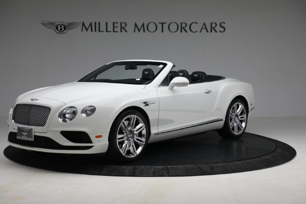Used 2016 Bentley Continental GT V8 for sale Sold at Maserati of Greenwich in Greenwich CT 06830 1