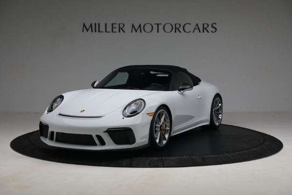 Used 2019 Porsche 911 Speedster for sale $395,900 at Maserati of Greenwich in Greenwich CT 06830 13