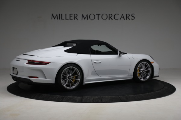 Used 2019 Porsche 911 Speedster for sale $395,900 at Maserati of Greenwich in Greenwich CT 06830 18