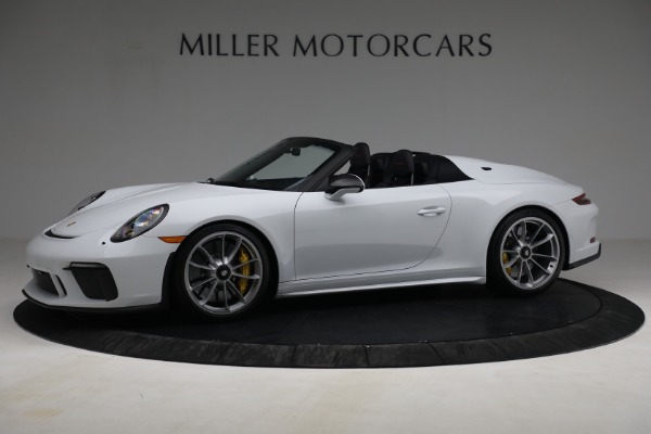 Used 2019 Porsche 911 Speedster for sale $395,900 at Maserati of Greenwich in Greenwich CT 06830 2
