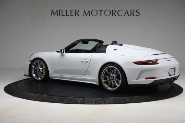 Used 2019 Porsche 911 Speedster for sale $395,900 at Maserati of Greenwich in Greenwich CT 06830 4