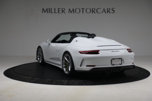Used 2019 Porsche 911 Speedster for sale $395,900 at Maserati of Greenwich in Greenwich CT 06830 5