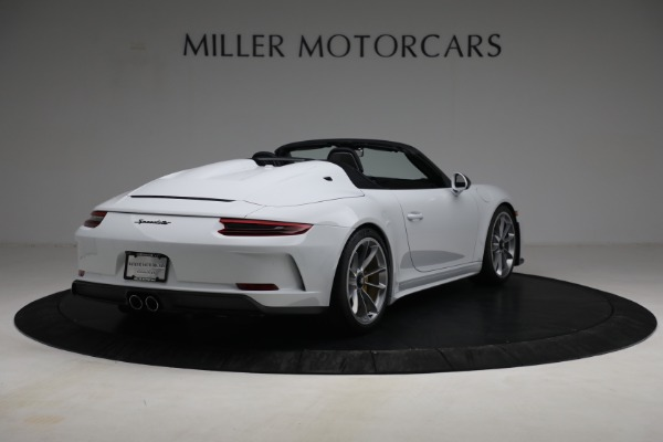Used 2019 Porsche 911 Speedster for sale $395,900 at Maserati of Greenwich in Greenwich CT 06830 7