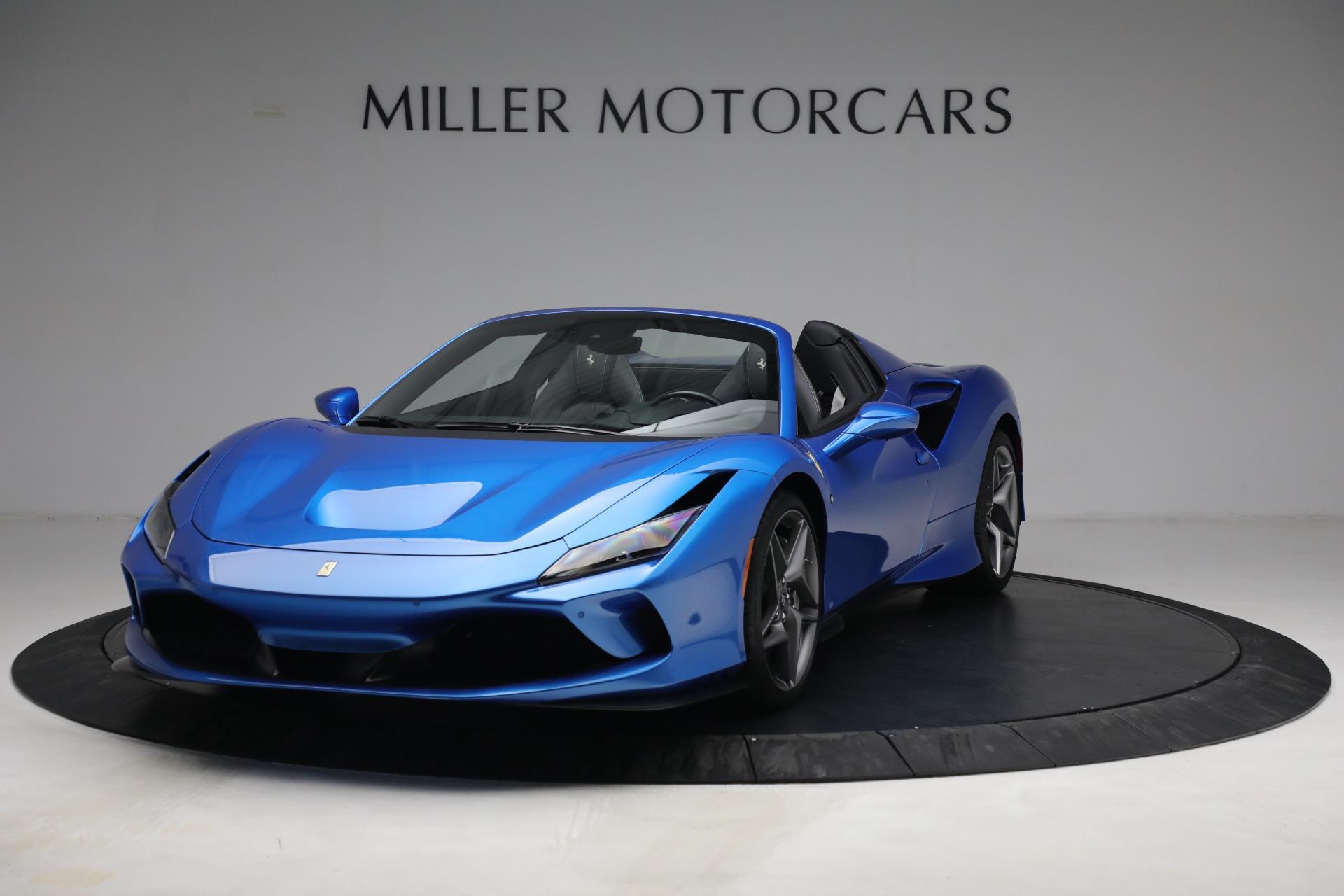 Used 2021 Ferrari F8 Spider for sale $499,900 at Maserati of Greenwich in Greenwich CT 06830 1