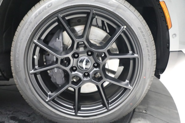 New 2021 Aston Martin DBX for sale $202,286 at Maserati of Greenwich in Greenwich CT 06830 28