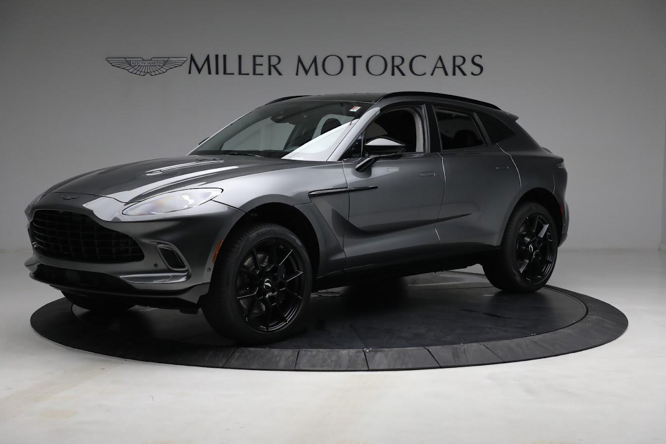New 2021 Aston Martin DBX for sale $202,286 at Maserati of Greenwich in Greenwich CT 06830 1