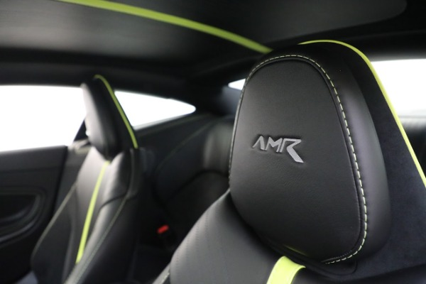Used 2019 Aston Martin DB11 AMR for sale Call for price at Maserati of Greenwich in Greenwich CT 06830 17